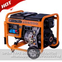 Generador diesel portátil 5kw