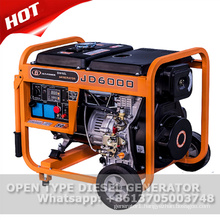 5kw air cooled open frame diesel generator for sale