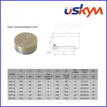 Mandril magnético permanente redondo (MC-001)