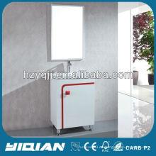 El lavabo impermeable barato del cuarto de baño de la India debajo del gabinete del fregadero del cuarto de baño