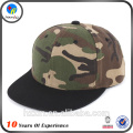 High Quality Custom Blank Camouflage Snapback Caps