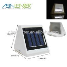 Super Bright 4LED Solar Rechargeable Sensor Light