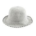 Оптовая модная шапка для девочек с зимним куполом, вязаная шапка