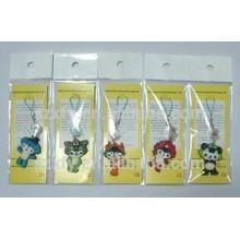 Sacs d'emballage en plastique PE transparent avec en-tête et autocollant
