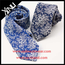 2015 New Product Short Cotton Printed Unique Ties for Men