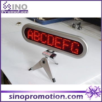 Taxi dentro de la pantalla LED de pantalla de la Junta de coche
