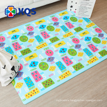 Factory provide heavy metal free large baby play mat for baby