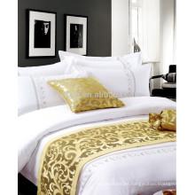 Ropa de cama de algodón bordado algodón de lujo conjunto de ropa de cama