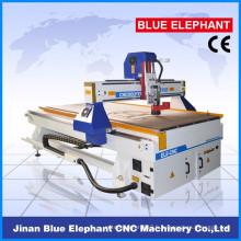 Jinan ELE1325 cnc bois routeur gravure pour couper le bois, acrylique, aluminium