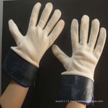 men cow split leather working safety gloves
