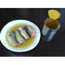 Macarrones enlatados en salsa de salmuera / tomate / aceite