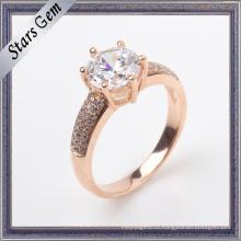 Мода подгонять дизайн 925 Серебряный Роуз кольцо ювелирные изделия