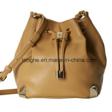 Stylish Drawstring with Magnetic Snap Closure Ladies Handbag (ZXS0111)