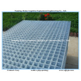 Black or Electro Galvanized Welded Wire Mesh Panel for Construction