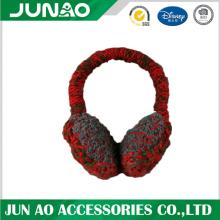Ear muff knitted custom design