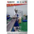 Fácil de operar parafuso duplo PP resíduos plásticos reciclagem máquina