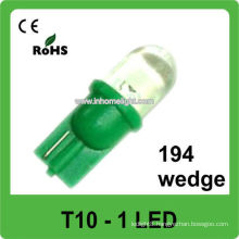 194 wedge Auto led lights 12V T10 led car bulb