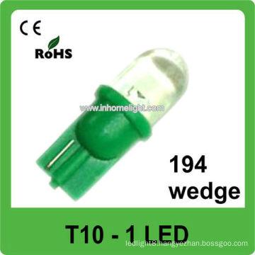 automotive led lamp 12V led auto T10