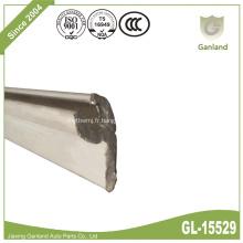 Profilé de canal de capuchon de retenue de joint d'étanchéité de brousse en aluminium