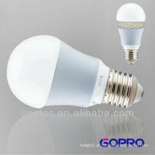 Lâmpada LED de alta luminosidade E27 7W