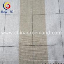 100% fio de algodão tecido tingido para vestuário de camisa têxtil (GLLML090)