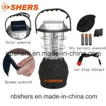 Солнечная перезаряжаемая 36PCS светодиодная лампа аварийной лампы USB Outlet