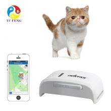 Ninguna caja al por menor tk star tk909 dispositivo gps perseguidores gps gprs mascota puede insertar collar gps para gato con pista web gratis