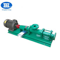 Mini mono helical single screw pump for molasses