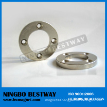 Big Ring of Permanent Magnets with Hole