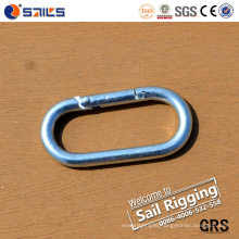 Carbon Steel Zinc-Plated Spring Carabiner