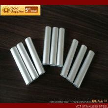 Tailles de tubes en aluminium