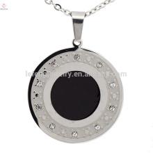 Дубай серебряный круглый из нержавеющей стали ожерелье мода ожерелье оптовая