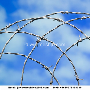 PVC Coated Dan Galvanized Barbed Wire