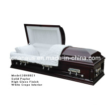 Caixão de China fabrica (ANA) para serviços funerários
