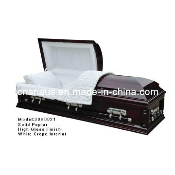 Cercueil de Chine fabrique (ANA) pour des Services funéraires