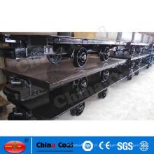 Reboque railway do leito 20T para a fabricação chinacoal de mineração do tipo