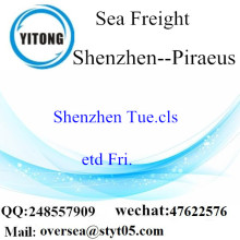 Shenzhen Port LCL Consolidation To Piraeus