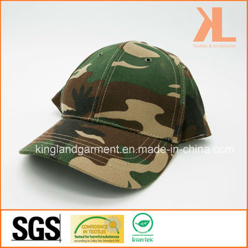 Cotton Drill Army /Military Green Camouflage Summer Baseball Cap