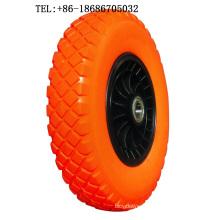 Air Pneumatic Wheels PU Wheel 16X400-8