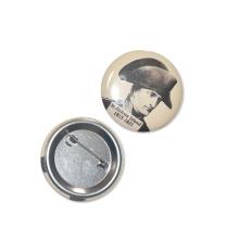 50mm SGS Factory Custom Logo Emballage en étain Pin Button Badge