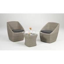 Плетеная Садовая мебель из ротанга Открытый отдых бистро патио набор