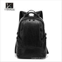 China fornecedor 100% real couro vintage padrão mochila escolar mulheres