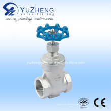 Stainless Steel Thread Gate Valve (Z11W)