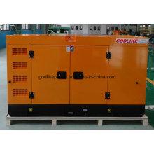 Заводская распродажа Китай 50Hz 40kw / 50kVA Тихая цена генератора (GDX50 * S)