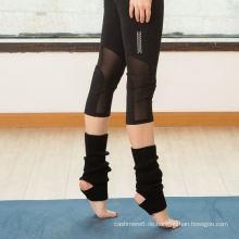 Die Anti-Rutschsohle halbe Zehen-Yoga / Pilates-Socken der kundenspezifischen Großhandelsfrauen, nicht Beleg-Socken, Injinji fünf Zehe