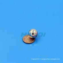 Aimants revêtus de nickel magnétique à la balle magnétique NdFeB Neo