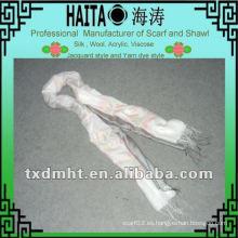 Bufanda de seda de los estilos de la manera