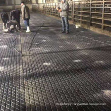Factory Price Rolled Thick Anti Slip Cow Walkway Holding Area Stall Alley Milking Rubber Mat Flooring