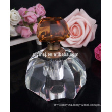 Wholesale crystal perfume bottle for desk and car decoration