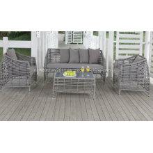 Outdoor-Rattan & Weiden-Sofa-Set
